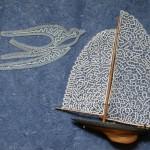 Sailboat & bird