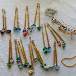 Bobbins for wire lace