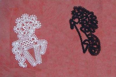 Horses & Bobbin lace