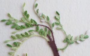 zeleno stablo - detalj