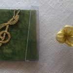 Music key pendant