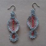 Lace earrings 2
